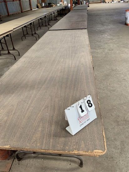 Folding tables 5 Ct.