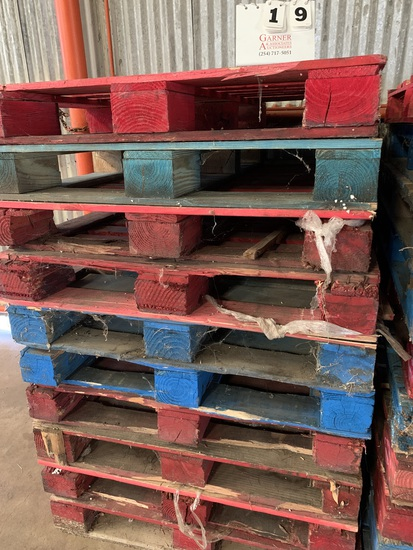10Ct. HEAVY PALLETS