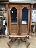 UNUSUAL COLLECTIBLE CABINET