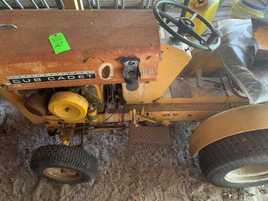 1965 Club Cadet Lawn Tractor Plus Parts Mower And Attachment