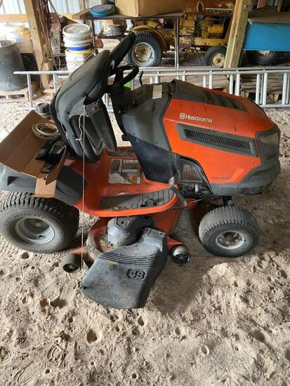 "Husqvarna Lawn Tractor, 48"" Cutter"