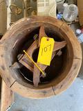Wood Pulley & Wood Barrel