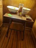 Oak Accent Table