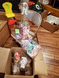 Lot Of Ty Beanie Babies And Cases