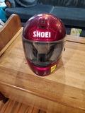 Shoei Helmet With Extra Shield