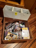 Box Of Misc. Cds And Games