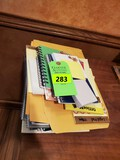 Stack Of Notepads And Misc.