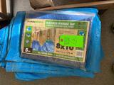 Duraworx Blue/green Reversible Tarp