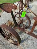 Handmade Antique Look- Tractor Yard Décor