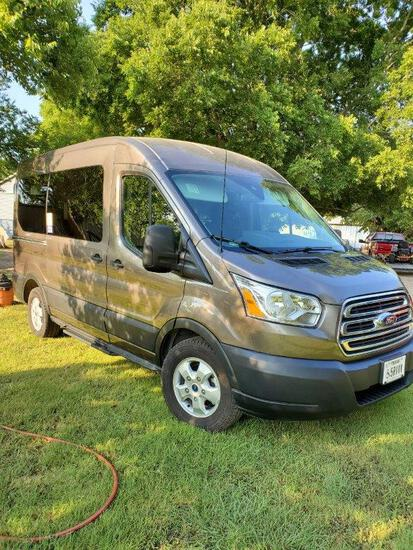 2019 Ford Transit 150 Xlt Eco-boost With Braun Ability Century Series Wheelchair Lift