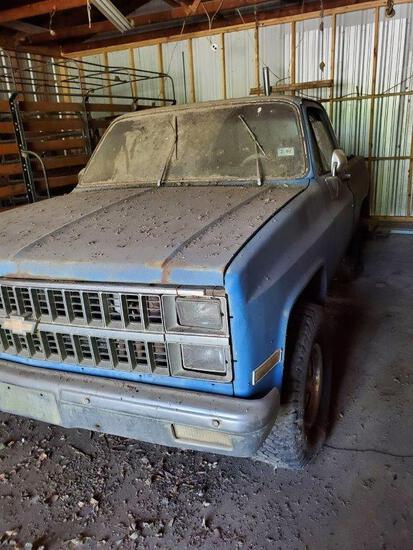 1982 Chevrolet Pickup Manual 5-speed, Mileage Showing 26,415