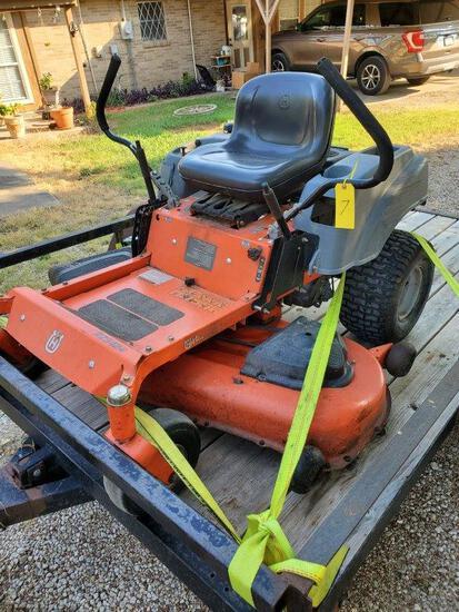 "Husqvarna Rz5424 (54"") 24hp Kohler Zero Turn Lawn Mower"