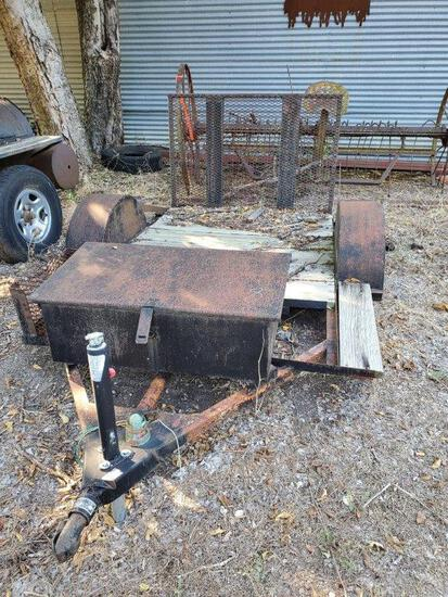 6' Drop Gate Trailer With Toolbox