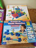 Create-a-chain Reaction & Pegs Building Set