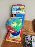 Educational Workbooks & Globe