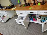 Cabinet Of Art Supplies & Misc. CONTENTS ONLY (3 Drawers & 1 Cabinet)