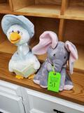 Cuddle Barn Mother Goose Nursery Rhymes Animated & Peek-a-boo Elephant Animated
