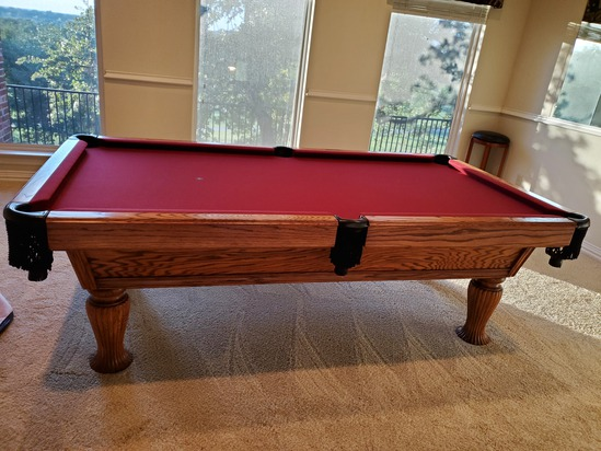 Beautiful Custom Pool Table