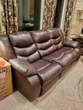 Reclining Couch in Living Room