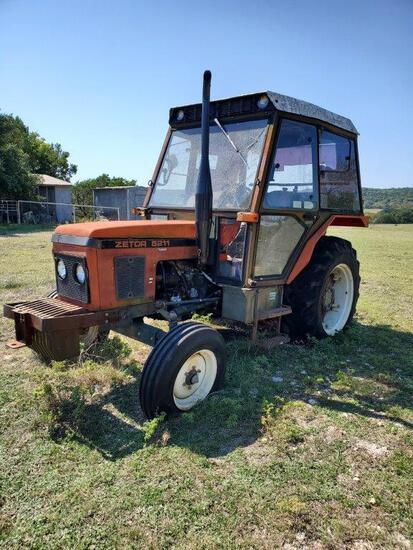 Zetor 5211 Tractor- Not Running