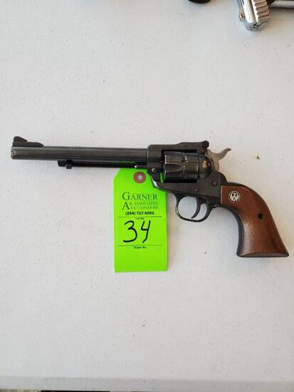 Ruger 22 Cal New Model Single 6