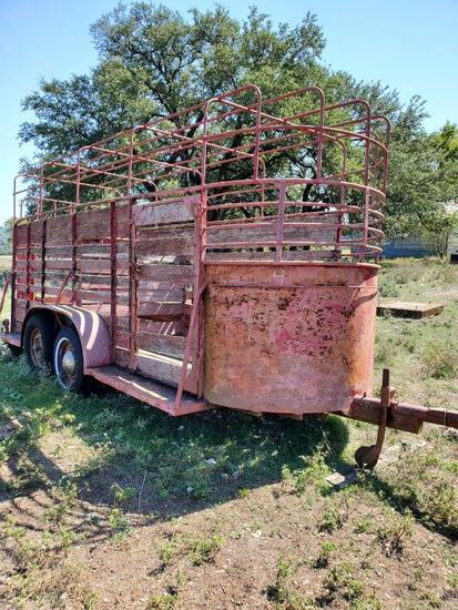 16' Cattle Trailer