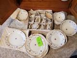 Homer Laughlin China Set Egg Shell Georgian- Packed In Protective Bags