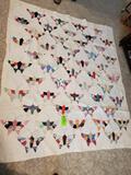 Butterfly Quilt 81x70
