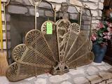 Fireplace Fan Screen