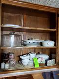 Contents Of Top Kitchen Cabinets- Several Cabinets Look At All Pics