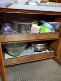 Contents Of Bottom Kitchen Cabinets - Several Cabinets Look At All Pics