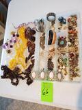 Costume Jewelry In Box