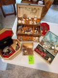 Costume Jewelry- 4 Boxes