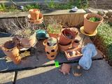Lot Of Pots & Misc. Yard Items