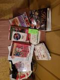 Large Box Of Misc. Cookbooks