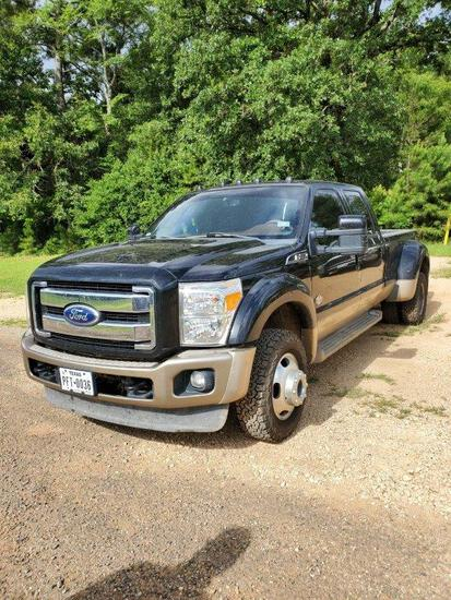 2011 Ford F450 Super Duty King Ranch Lariat Fx4 Off Road- 70,600 Miles Vin 7963