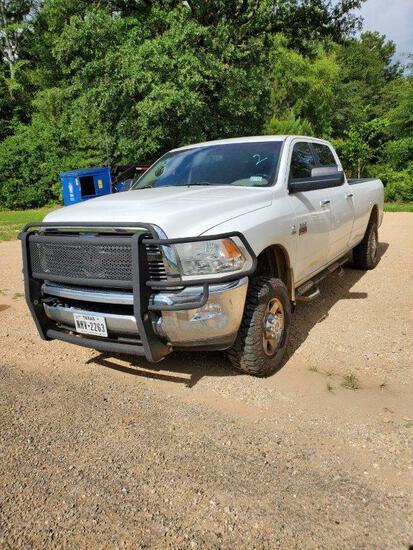 2012 Dodge Ram 2500 HD 4x4 6.7L Turbo Diesel- 144,359 Miles Vin 4576