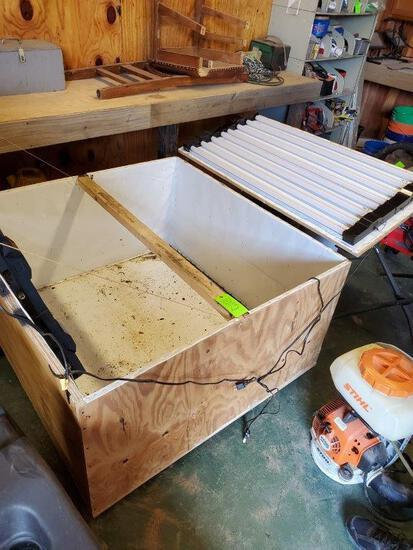 Incubator Box On Wheels
