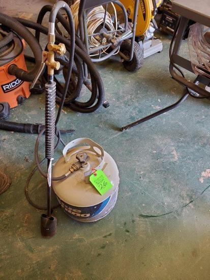 Propane Blow Torch W/ Propane Tank