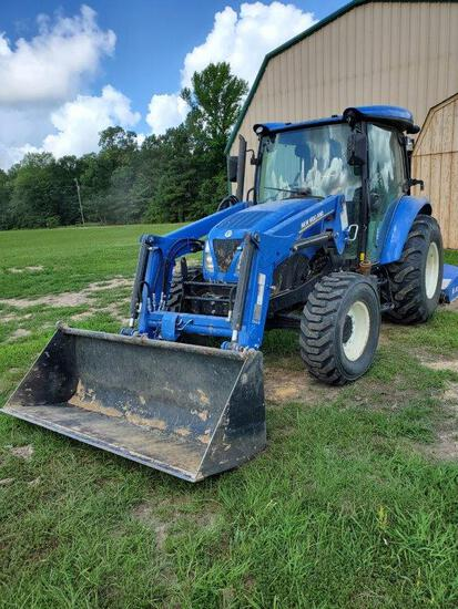 New Holland Workmaster 55 With Front End Loader, Ac - 293.4 Hours