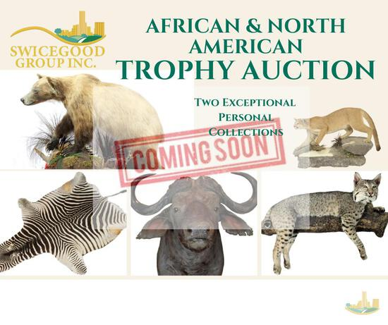 African & North American Trophy Auction2 Exceptional Personal Collections Catalog Coming Soon!