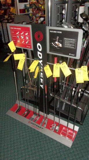 ODYSSEY PUTTER DISPLAY RACK | Auctions Online | Proxibid