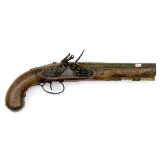 Flintlock Trade Pistol By Sharpe