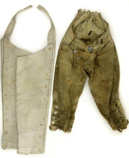 18th - Early 19th Century Buckskin Breeches with Leggings