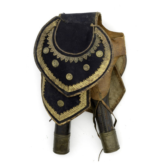 Saddle Pommel Holsters for a High Ranking Officer, ca. 1812