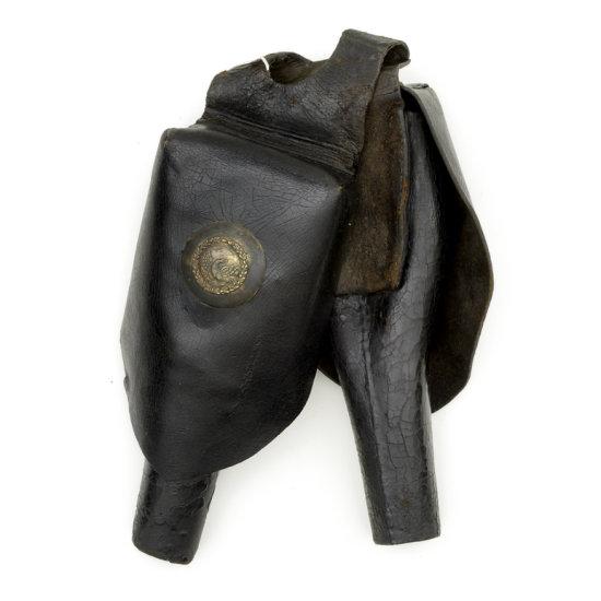 Mexican War Era Officer's Saddle Pommel Holsters