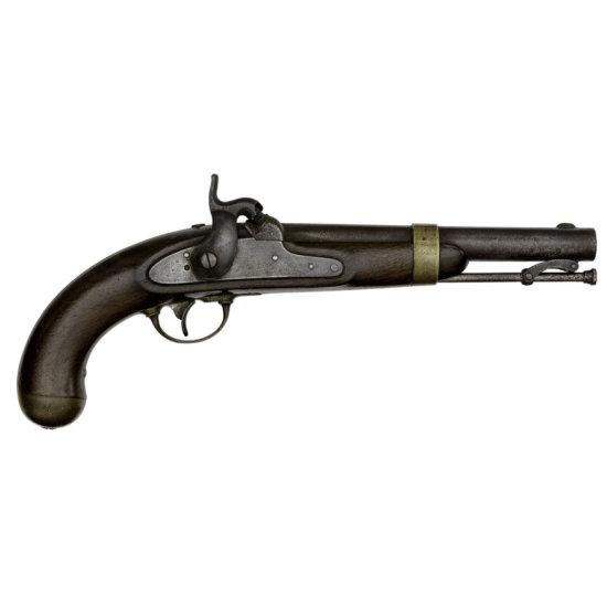 Model 1842 Aston Percussion Single Shot Pistol Belonging To Col. Joseph C. Audenried