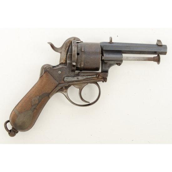 Francotte Pinfire revolver