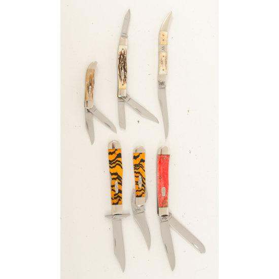 Lot of Six Case Knives