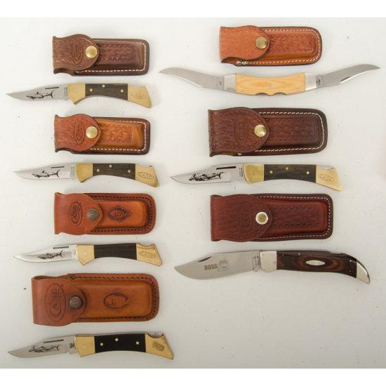 Lot of Seven Case Knives